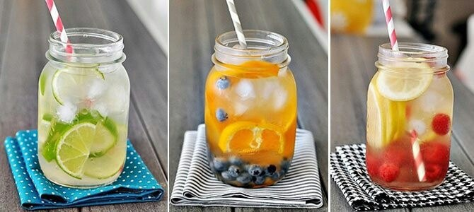 Increase Hydration With Infused Water